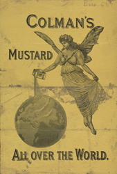 Advert For Colman's Mustard